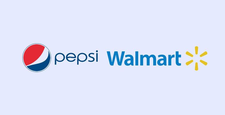 Pepsi And Walmart - Blue Logo