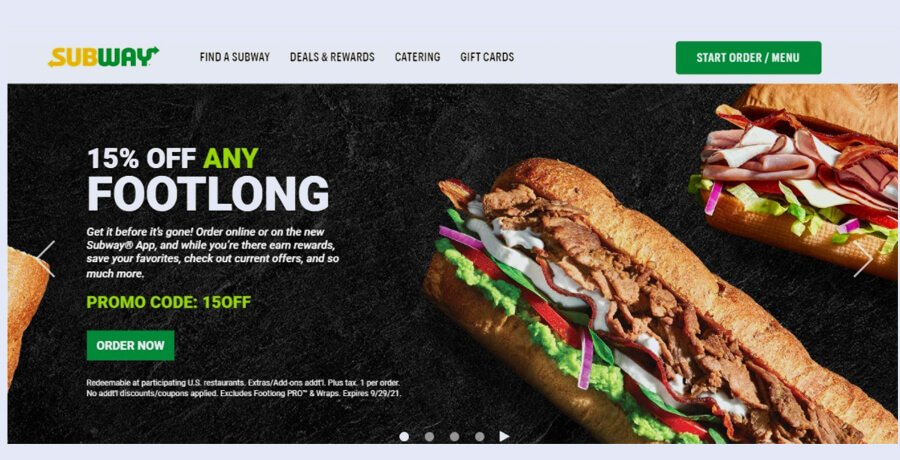 Subway Branding Strategy
