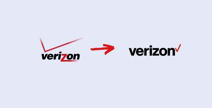 Verizon - Logo Redesign
