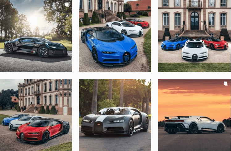 Bugatti - Visual Branding Identity
