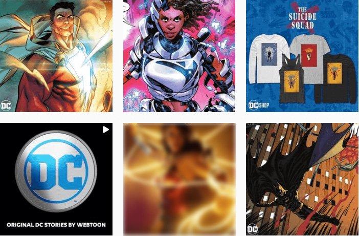 DCcomics - Visual Branding Identity