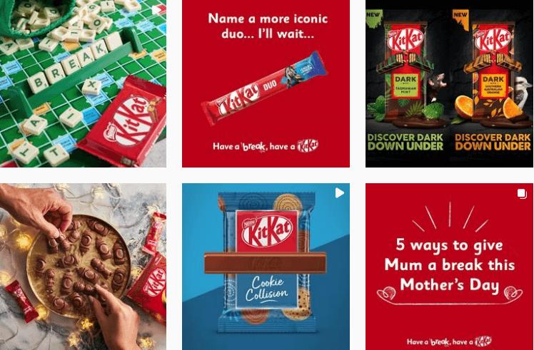 Kit Kat - Visual Branding Identity