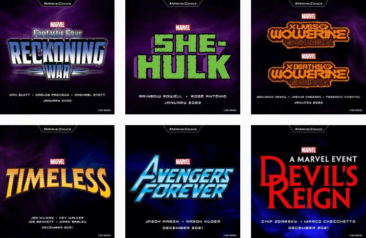Marvel - Visual Branding Identity