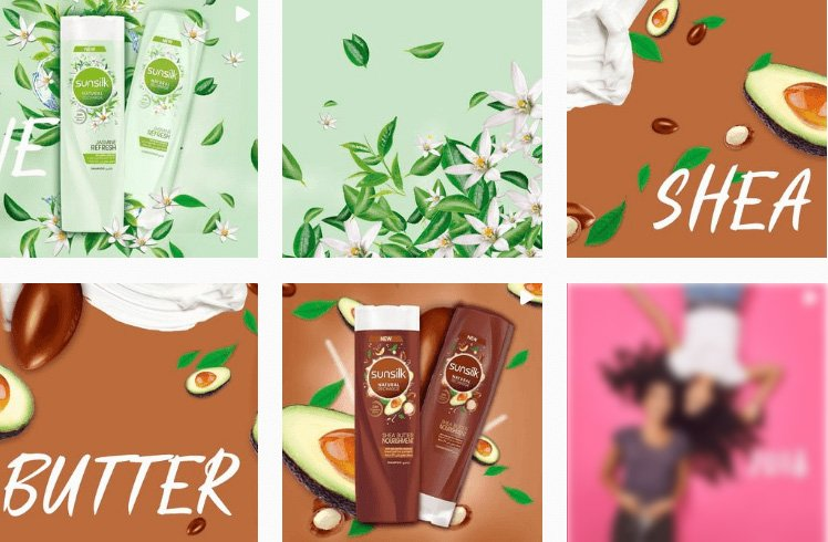 Sunsilk Arabia - Visual Branding Identity
